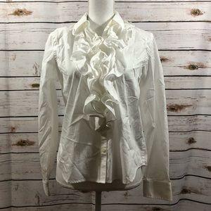 Ralph Lauren ruffled shirt